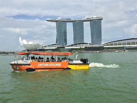 duck boat tours singapore singapore fully guided captain explorer dukw tour