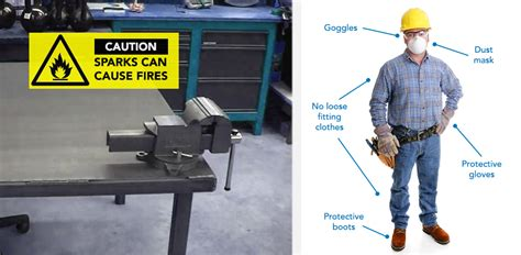 bench grinder safety how to use an angle grinder safely correctly help