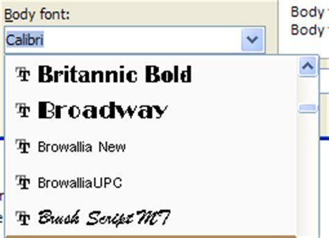 theme fonts list create theme fonts theme fonts 171 style formatting