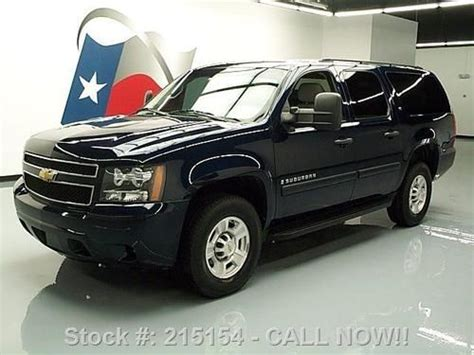 manual cars for sale 2009 chevrolet suburban 2500 parental controls purchase used 2009 chevy suburban 2500 4x4 9 pass nav rear cam 79k mi texas direct auto in