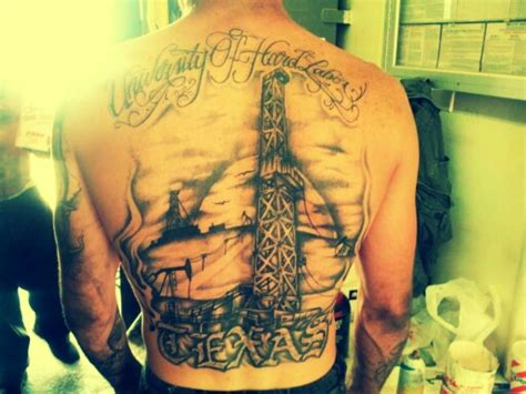 oilfield tattoos oilfield roughneck roughneck