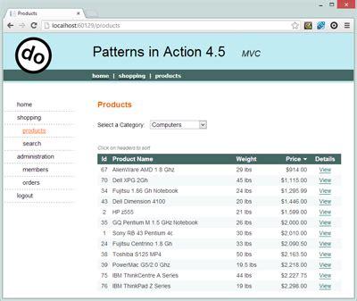factory pattern asp net mvc net design pattern framework dofactory com