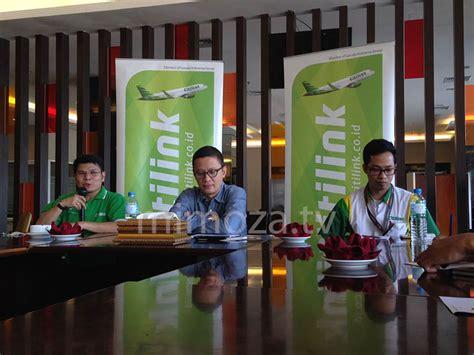 citilink gorontalo mimoza tv besok penerbangan perdana citilink dari gorontalo