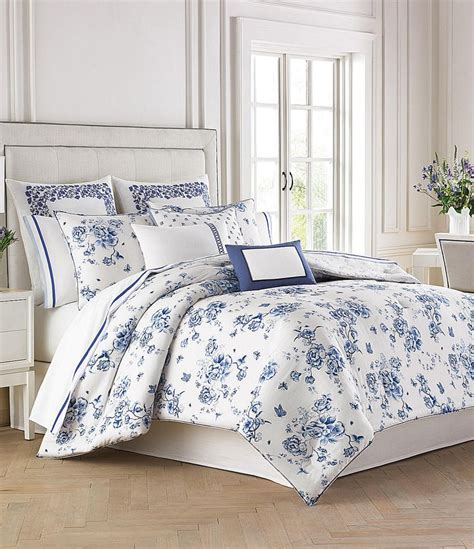 dillards bedroom bedspreads wedgwood china blue floral bedding collection dillards