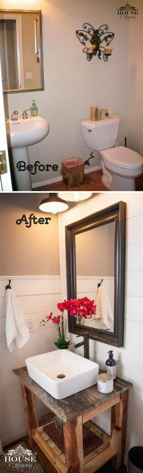Before And After Bathroom Makeovers by 50 Gorgeous Bathroom Makeovers With Before And After