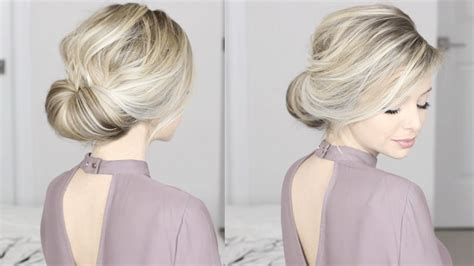 easiest updo simple for medium shoulder length hair