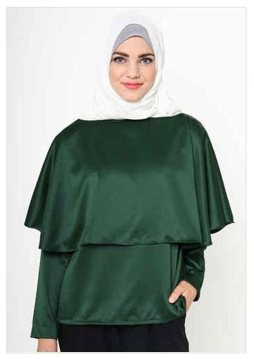 Baju Muslim Elegan Wanita 10 Contoh Model Busana Muslim Wanita Formal Elegan 2016