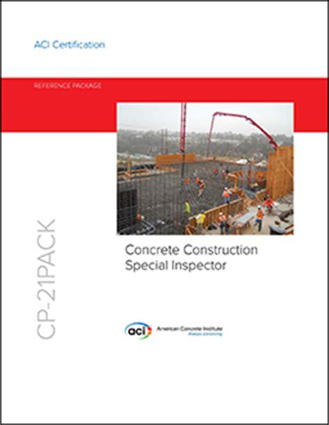 Sp 002 07 Manual Of Concrete Inspection