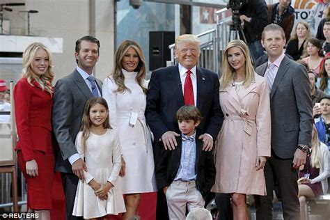 Trump Family Photos by Trump Family Appear On Today Showing Other Side Of Donald