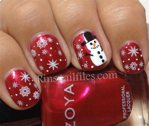 Nail Snowman