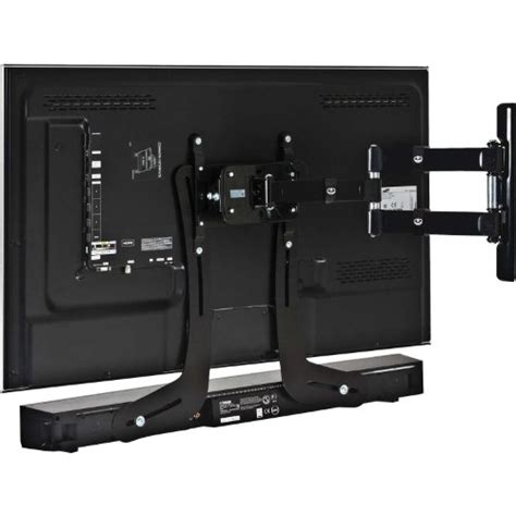 sound bar mount on top of tv impact mounts universal steel sound bar soundbar speaker