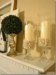 these glass containers were made from candle holders and