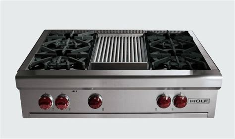 30 Electric Cooktop With Downdraft 36 Quot Wolf Gas Rangetop Contemporary Cooktops By Sub