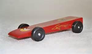 standard wedge pinewood derby car design