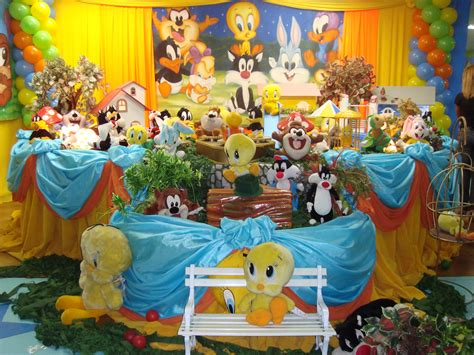 Sweet Sixteen Backyard Party Ideas Vov 243 Responde Baby Looney Tunes Segredos Da Vov 243