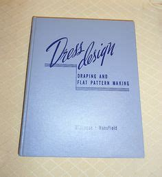 dress design draping and flat pattern making ebay 1000 images about books sewing design pattern drafting