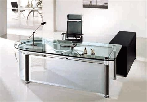 Modern Glass Top Desk Inspirations Cool Office Desk For Ideas Decorationsmodern Glass Gif 600 215 416 Glass Desks