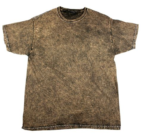 brown vintage mineral wash t shirt tie dye space