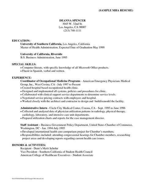 resume qualifications exles 28 images summary of