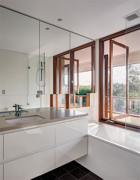 bathroom mirrors sydney contemporary home in sydney s lower shore