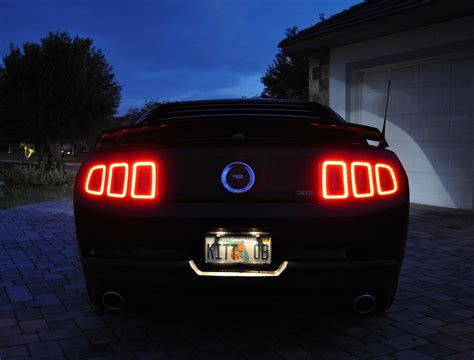 2011 mustang gt tail lights 2013 tail ls on my 2011 the mustang source ford