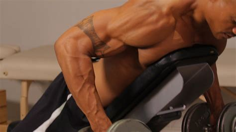 back workout on bench how to do a prone bench row back workout exlusive fitness community