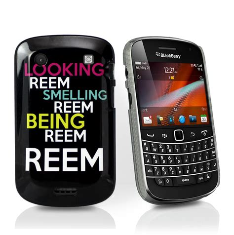 Blackberry 9900 Cover looking smelling being reem cover for blackberry 9900