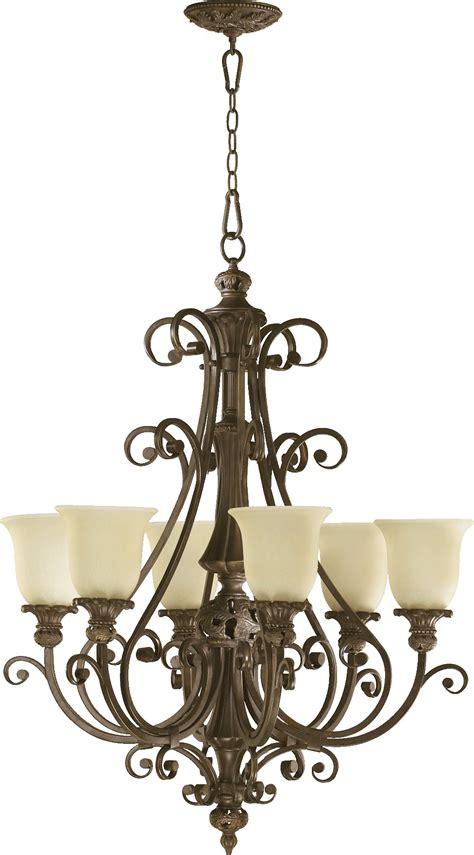 Classic Chandeliers Quorum Lighting 6032 6 54 Fulton Traditional Chandelier Qr 6032 6 54