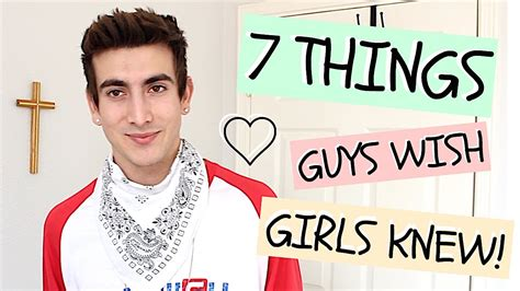 7 Things I Notice On Guys 7 things guys wish knew