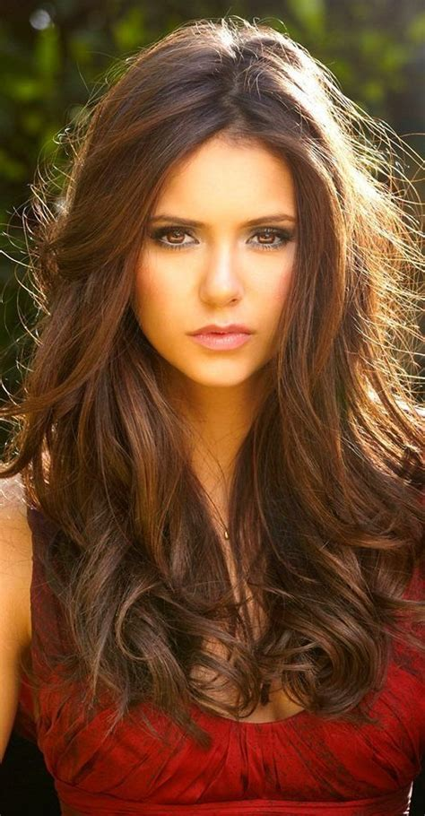 pictures of chestnut brown hair color with highlights and lowlights on african american hair chestnut brown hair color 2016 hair pinterest