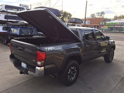 bed cover for toyota tacoma 2016 toyota tacoma tonneau lsii suburban toppers