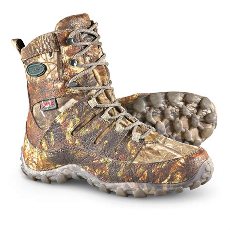 scent lok boots s wolverine 174 8 inch waterproof 200 gram thinsulate