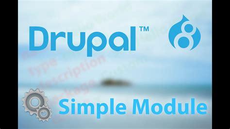 drupal create simple module youtube