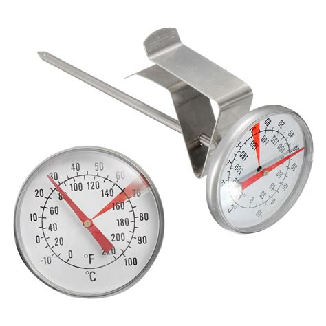 Food Thermometer 100 176 c cooking stainless steel oven bbq milk food
