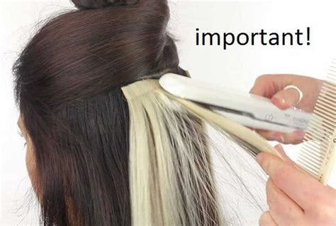 hair extensions for thin hair in salt and pepper installing tape in hair extensions