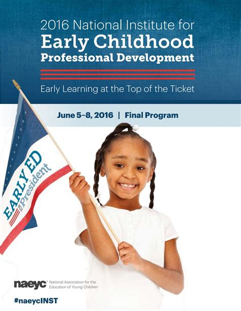 naeyc 2016 national institute for early childhood