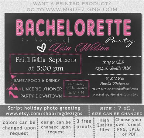 bachelorette invitations free template printable chalkboard shower bachelorette