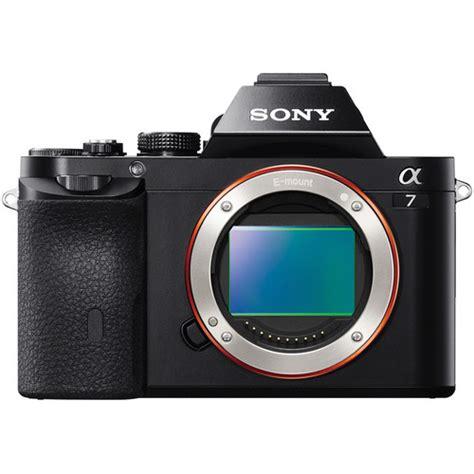 sony alpha a7 mirrorless digital sony a7 digital ilce7 b b h photo