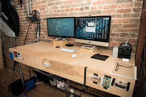Pipe Standing Desk by Pipe Standing Desk Brian Hirschy Photography