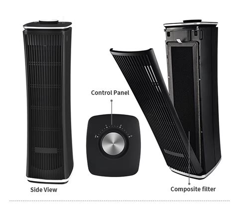 china  tower style air purifier manufacturers