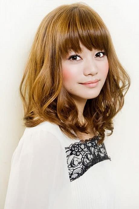 japanese hairstyles for shoulder length hair asian medium length hairstyles