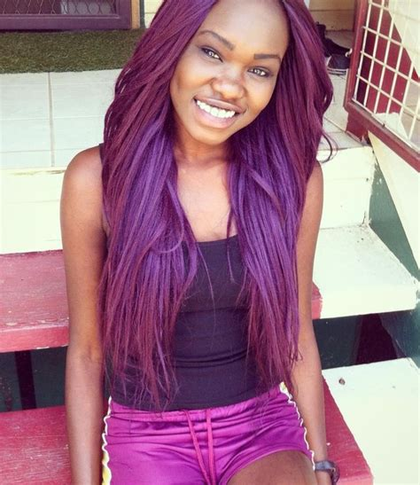 purple hair for black women 17 best images about lilac purple pastel hair on