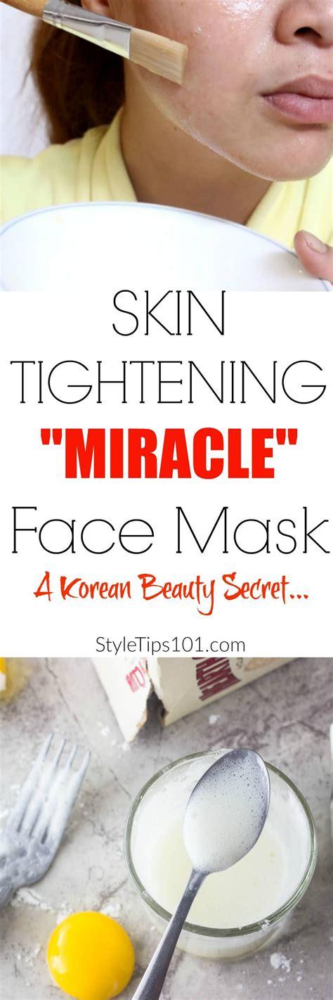 diy tightening mask diy skin tightening mask diy do it your self