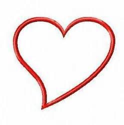 Simple Wedding Program Template Fancy Heart Outline