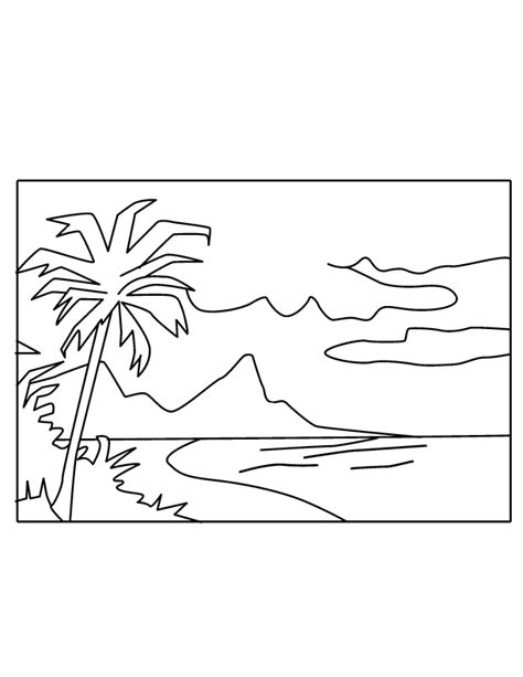 nature scenes coloring pages az coloring pages