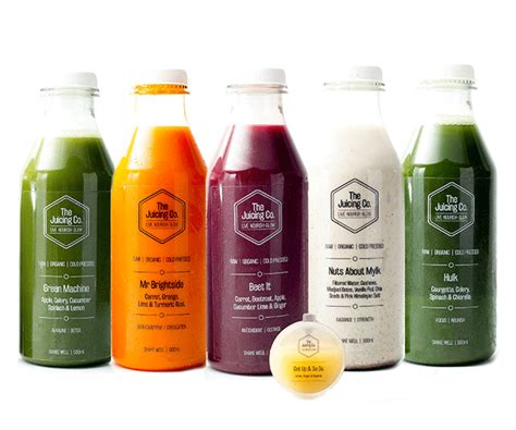 3 Day Juice Detox Uk Delivery by Home The Juicing Co