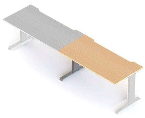 Desk Leg Extensions by Form Rectangular Single Extension Desk With I Leg Office