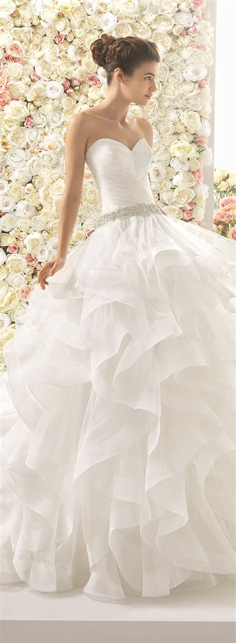 Wedding Ruffled by Wedding Dress Trends 2017 Ruffled Skirts The Magazine