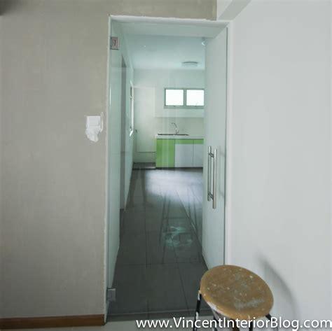 Kitchen Glass Cabinet Doors Punggol 4 Room Hdb Renovation Part 8 Day 32 Final