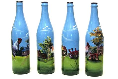 12 ways use old wine bottles for home decor